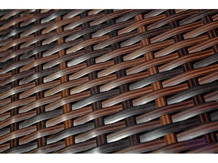 Zestaw ogrodowy CALMO brązowy technorattan Tworzywo sztuczne Stal Zestawy wypoczynkowe Kategoria Zestawy mebli ogrodowych