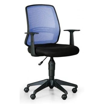 Krzesło biurowe Ekonomy, niebieski