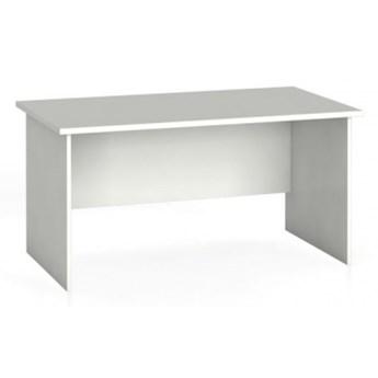 Stół biurowy prosty 140 x 80 cm, biały