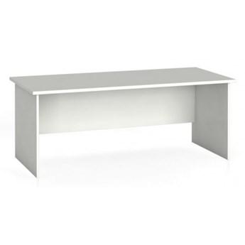 Stół biurowy prosty 180 x 80 cm, biały