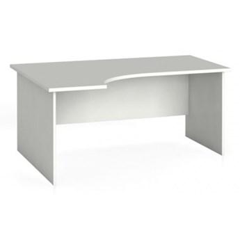 Biurko ergonomiczne PRIMO 160 x 120 cm, białe, lewe