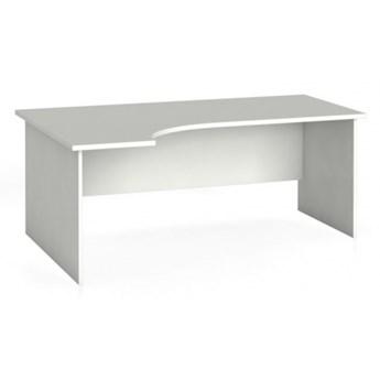 Biurko ergonomiczne PRIMO 180 x 120 cm, białe, lewe