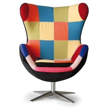 Fotel obrotowy RILLA patchwork