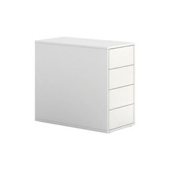 Kontener biurowy BLOCK White, 4 szuflady