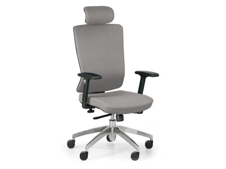 Krzesło biurowe Ned F, szary Krzesła i fotele Homebook
