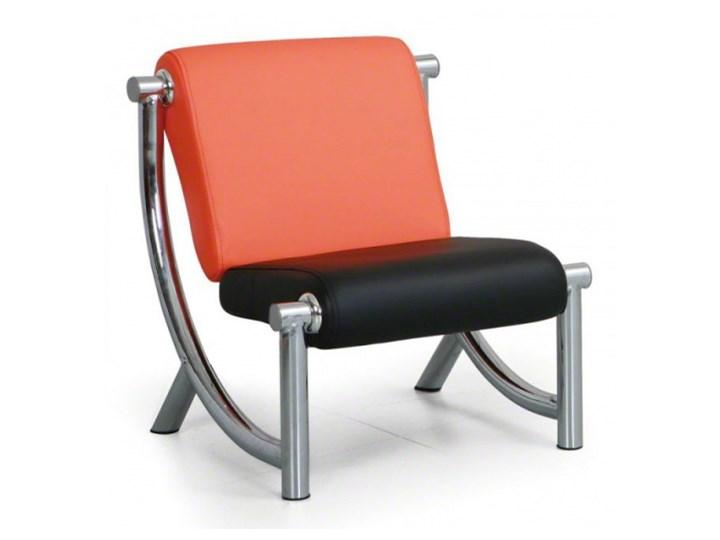 Fotel Jazzy II, pomarańczowy/czarny