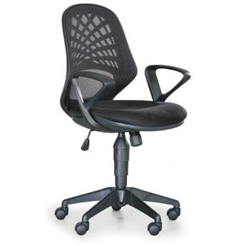 Krzesło biurowe Fler, czarny
