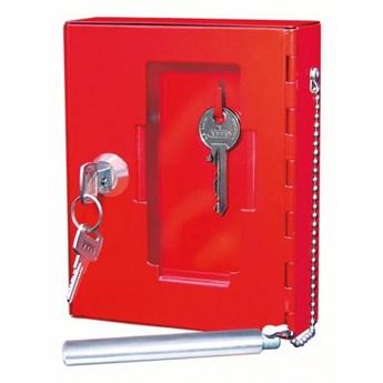 Bezpieczna szafka na klucze awaryjne