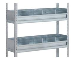 Ogrodzenie półkowe dla FIX, CLIP, 1000x400 mm