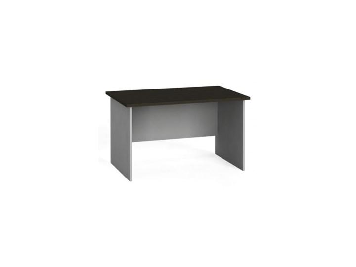 Stół biurowy prosty 120x80 cm, wenge