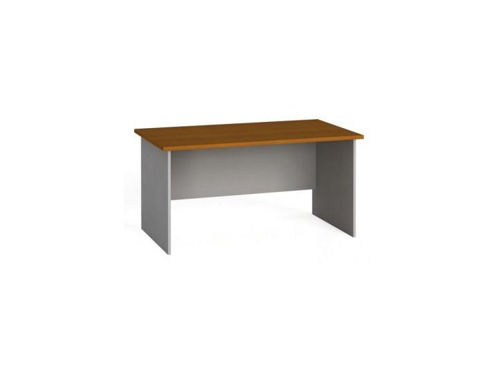 Stół biurowy prosty 140x80 cm, czereśnia