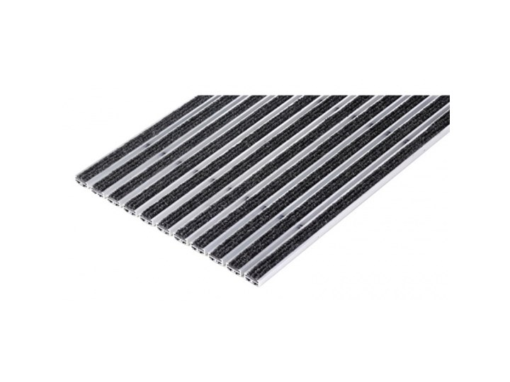 Mata czyszcząca, aluminium, PP dywan