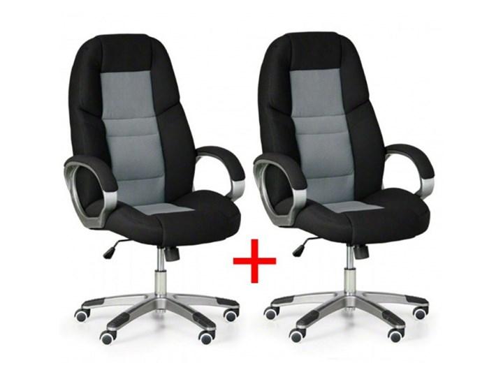 Krzesło biurowe Kevin 1+1 GRATIS, szary Krzesła i fotele