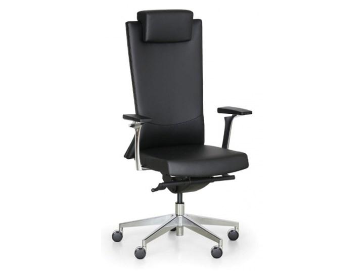 Fotel biurowy Matis, czarny