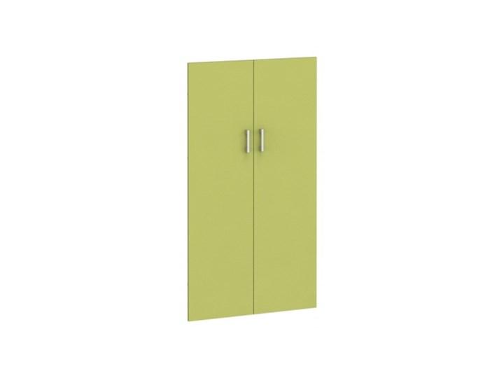 Drzwi - para, 793 x 18 x 1470 mm, zielone