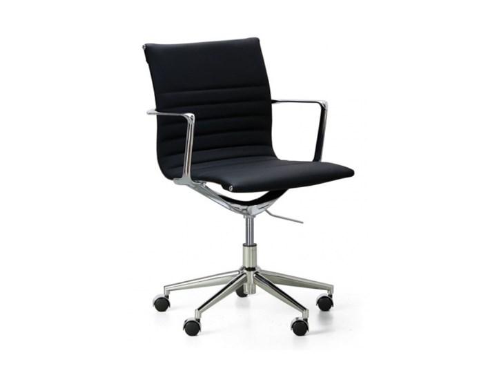 Fotel biurowy skórzany EXCLUSIVE S, czarne
