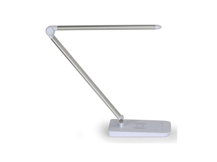 Lampa biurkowa Charge, srebrna