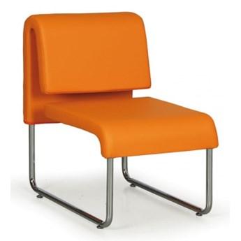 Fotel PUBLIC, pomarańczowy