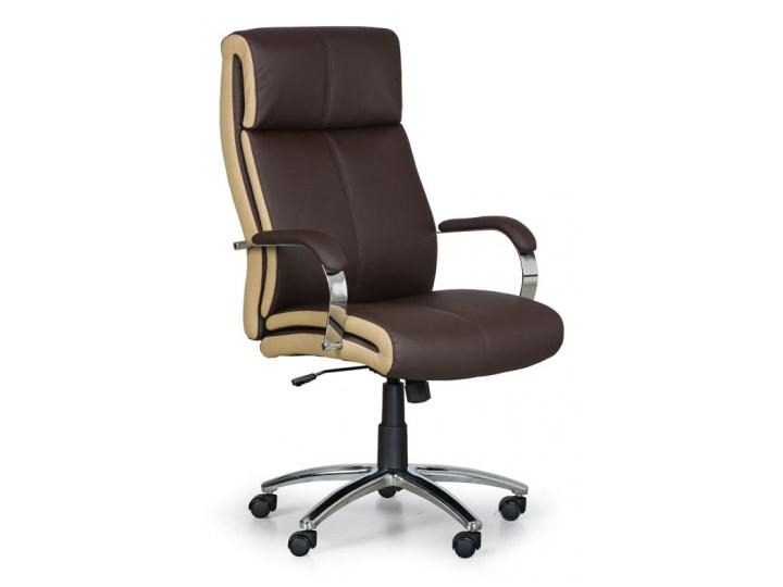 Fotel biurowy Half, brązowybeżowy