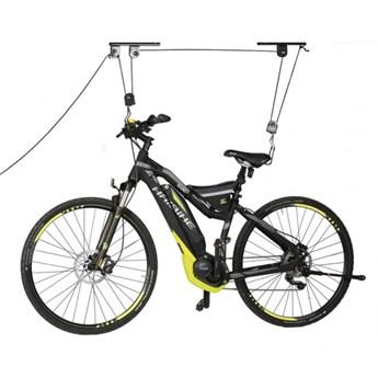 Sufitowy wieszak rowerowy, nośność 20 kg