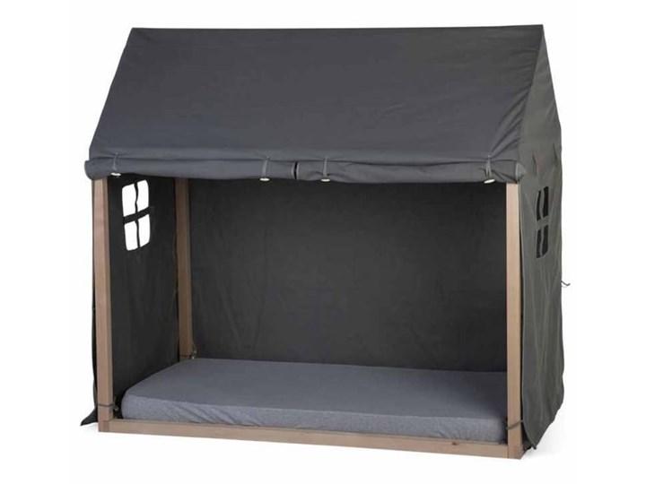 CHILDHOME Pokrowiec na domek nad łóżko, 150x80x140 cm, antracytowy