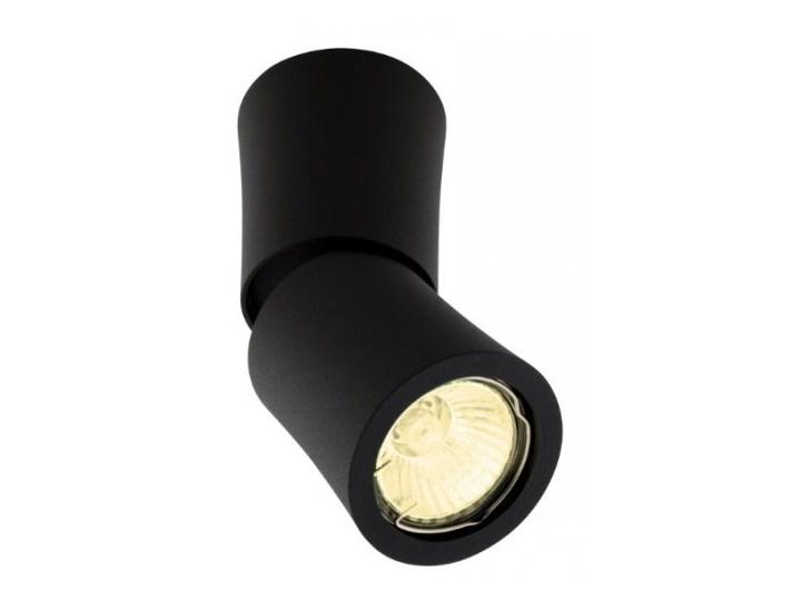 Dot C0157 lampa sufitowa / Plafon czarny Oprawa halogenowa Oprawa stropowa Okrągłe Oprawa ruchoma Kategoria Oprawy oświetleniowe
