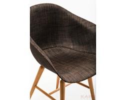 Kare design :: Krzesło Forum z podłokietnikami brązowe