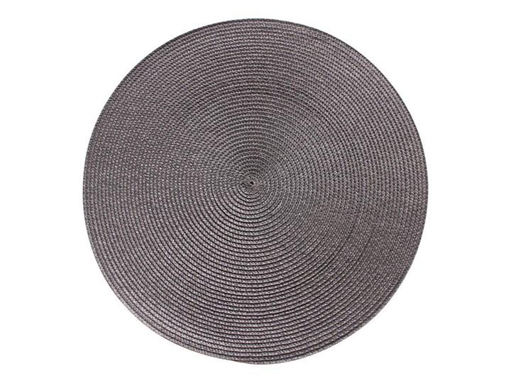 Podkładka na stół SPLOT okrągła śr. 38 cm szara