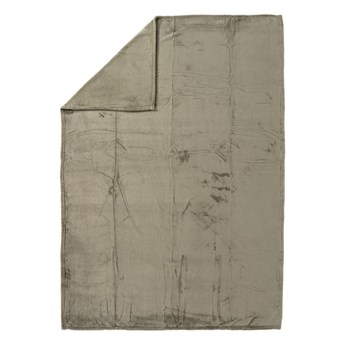 Pled Cocoon taupe beżowa 130 x 180 cm