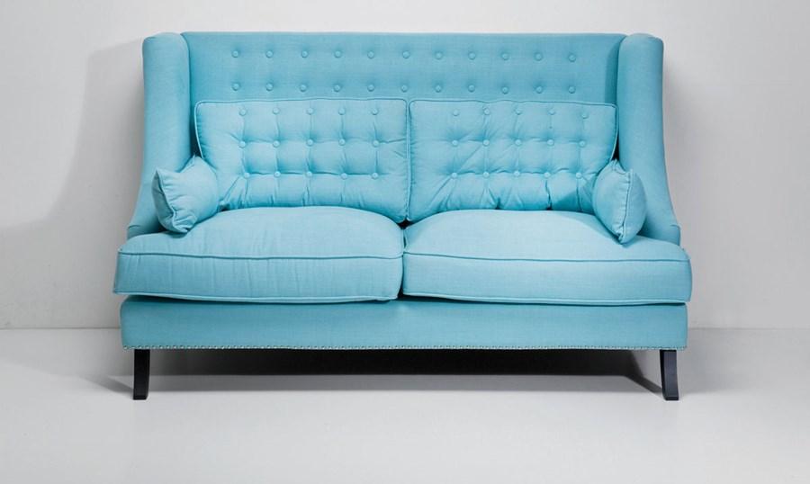 kare design sofa vegas light blue dwuosobowa sofy i kanapy zdj cia pomys y inspiracje. Black Bedroom Furniture Sets. Home Design Ideas