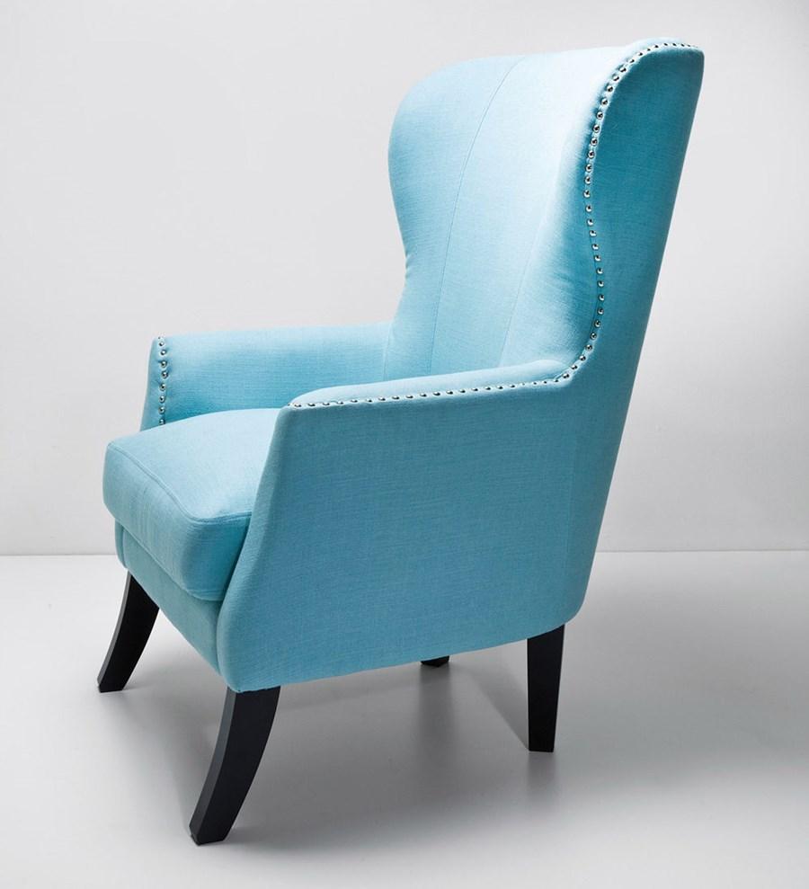 Kare design fotel vegas light blue fotele zdj cia pomys y inspiracje homebook Kare fotel