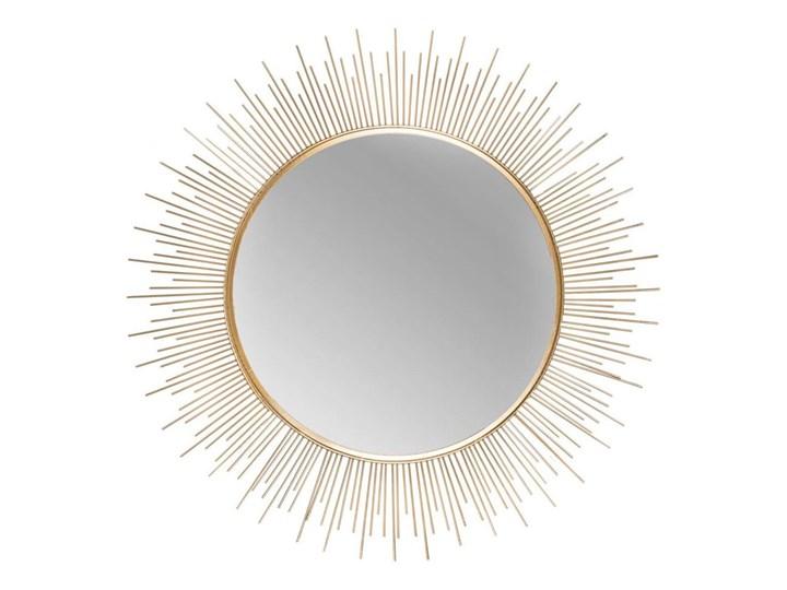Lustro dekoracyjne Plomo złote śr. 64.5 cm