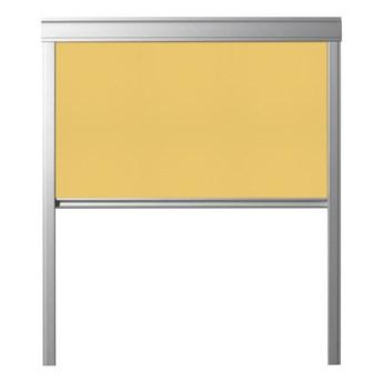 Roleta zaciemniająca DUR M8A 4233 Żółta 78 x 140 cm CONTRIO