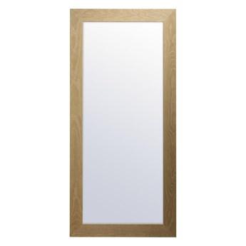 Lustro Matti dąb 50 x 120 cm w drewnianej ramie