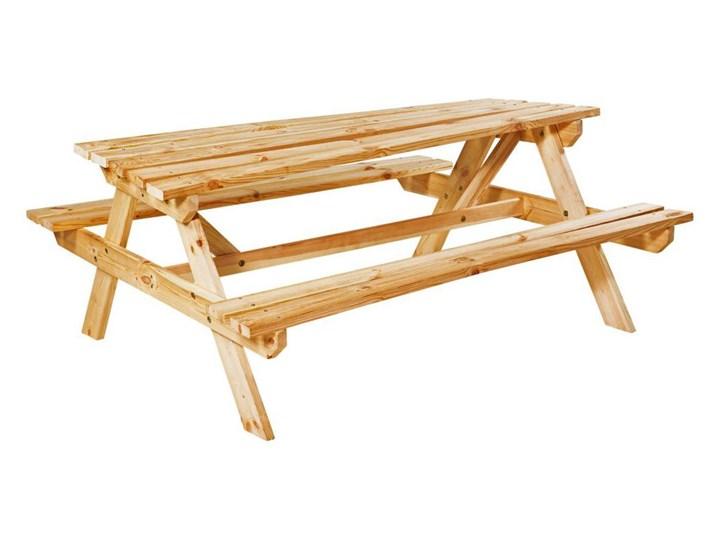 ławka Stół Piknikowy Drewniany Uppsala