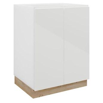 Szafka kuchenna stojąca Aspen 60 cm kolor biały