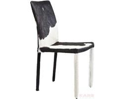 Kare design :: Krzesło skórzane Fur Black