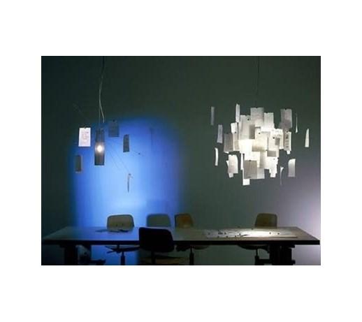ingo maurer zettel 39 z 6 mniejsza lampy wisz ce zdj cia pomys y inspiracje homebook. Black Bedroom Furniture Sets. Home Design Ideas
