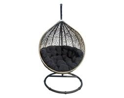 Miloo :: Fotel wiszący Cocoon brązowo-czarny