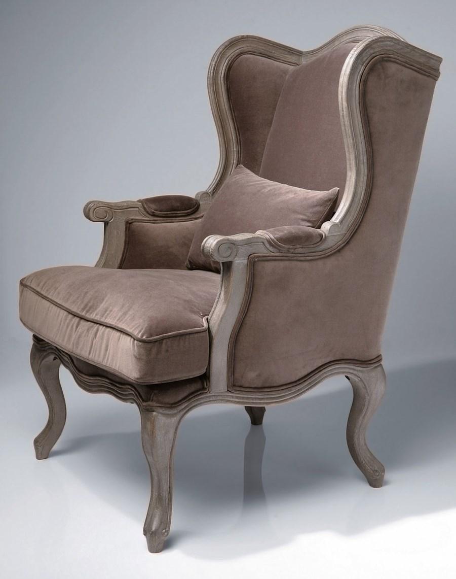 Kare design fotel grandfather velvet fotele zdj cia pomys y inspiracje homebook Kare fotel
