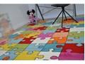 Dywan PAINT G4775 - Puzzle krem/niebieski 120x170 cm 160x220 cm 140x190 cm 200x290 cm