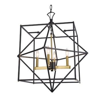 Lampa wisząca NASHVILLE P04247BKAU Cosmolight P04247BK AU