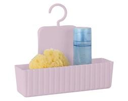 Półka łazienkowa, wisząca MINAS ALLSTAR, kolor różowy