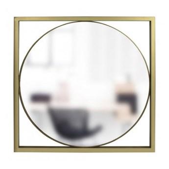 Lustro Olton  czarny mat lustro