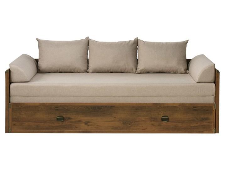 Indiana łóżko 80160 Black Red White