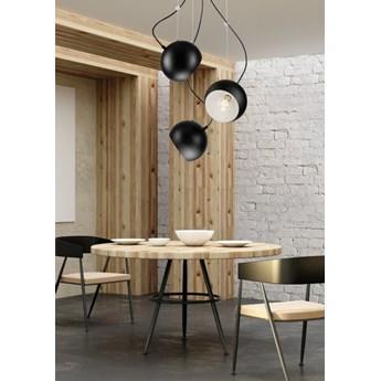 INEZ plafon - lampa wisząca 3-punktowa czarna