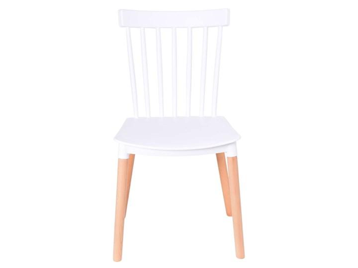 Krzesło vintage Odetta białe
