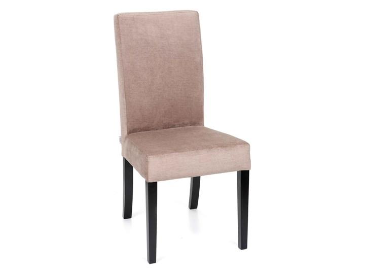 Krzesło Simple 100 Drewno Kategoria Krzesła kuchenne Tapicerowane Tkanina Pomieszczenie Salon