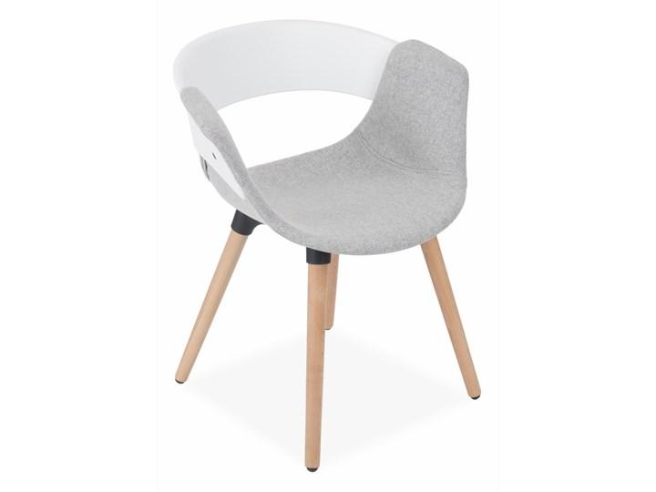 Krzesło Forma Tapicerowane Tworzywo sztuczne Drewno Tkanina Pomieszczenie Biuro i pracownia