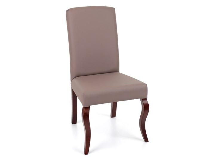 Krzesło Astoria, nogi Ludwik Tkanina Pomieszczenie Salon Tapicerowane Drewno Pomieszczenie Jadalnia
